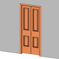 Door Bi Fold 2 Panels
