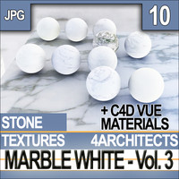 Marble White Vol. 3 - Textures & Materials
