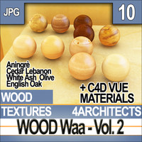 Wood Vol. 2 - Textures and Materials