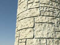 Stone_Procedural_ChalkTan_1 - HIGH QUALITY PROCEDURAL stone material - Mental Ray shader