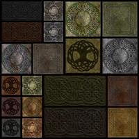 Ancient Celtic Stone Tiles