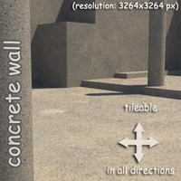 concrete painted wall (05)