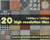 Free floor tiles.