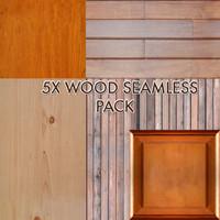 5 x Wood Seamless Pack