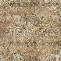 Seamless Straw Ground Texture