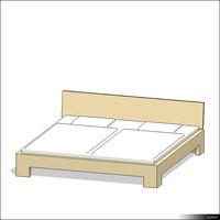Bed 00164se