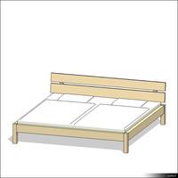 Bed 00165se