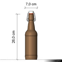Bottle Beer 0,5 L 00178se