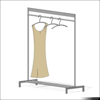 Clothes Rack 00181se
