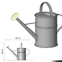 Watering Can 00215se