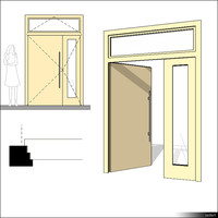 Door Double Transom 00230se