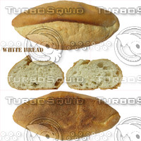 White bread texture