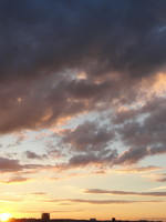 Sunset Sky 03 - stock photo