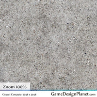 Gravel Concrete Free