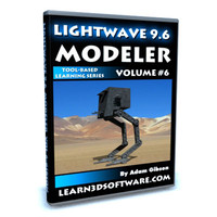 Lightwave 3D 9.6 Modeler Volume #6