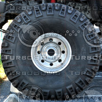 Monster Truck Tire