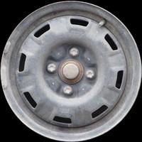 Old car rim texture