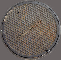 Los Angeles manhole cover
