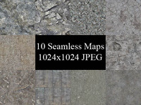 Stone & Concrete Texture Pack