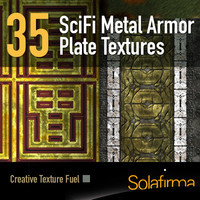 Metal Armour Plate SciFi