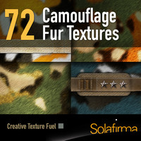 Military Camouflage Fur
