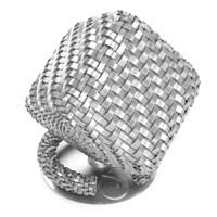 Woven metal