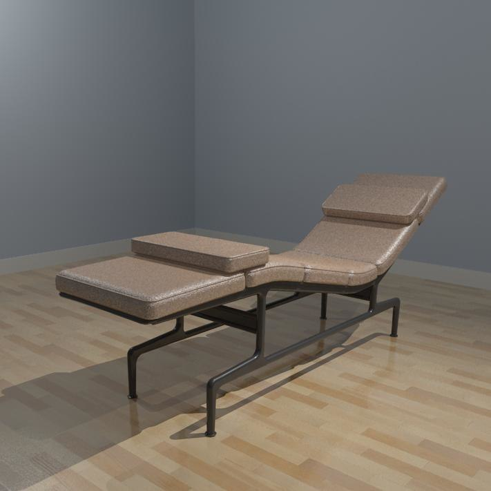 Building rfa chaise eames furniture for Chaise eames original