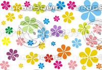 retro texture (flowers)