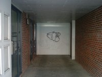 garage door vandalism spraypaint