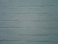 Painted White Brick