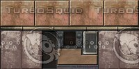 Industrial sci-fi wall texture