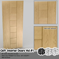 G69-Interior Doors Vol #1 VISMATs