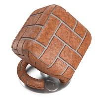 Textured ceramic tiles