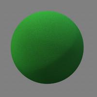 Maya Green Foam Rubber