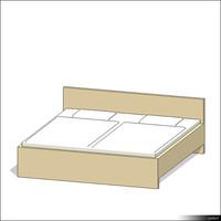 Bed 00166se