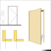 Door Swing Single 00220se