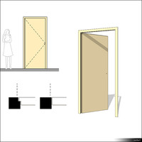 Door Swing Single 00224se