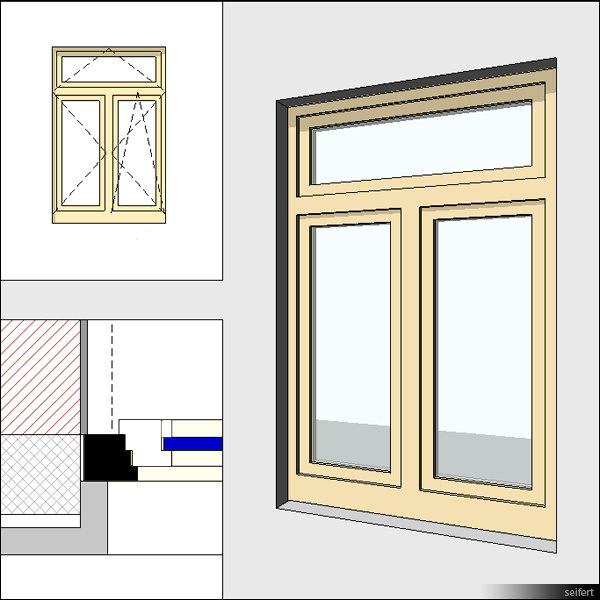 Casement windows with mullions images for 20 40 window