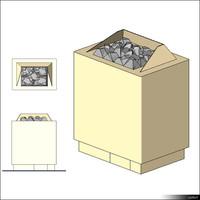 Sauna Heater 00289se