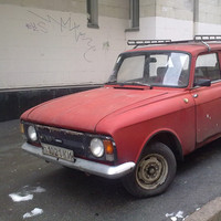 USSR Car Moskvich