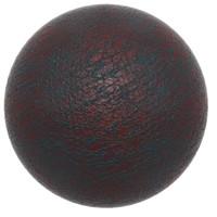 Dino Skin - Dark Red - 3D Texture