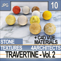 Travertine Vol. 2 - Textures & Materials