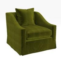 3d chair baker -