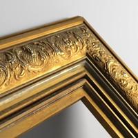 Golden Frame Texture