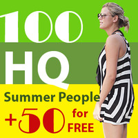 100 HQ people collection vol.3 + FREE BONUS