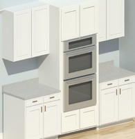 Kitchen Aid Double Ovens