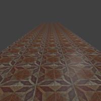 Old tiles floor