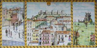 Painted Tile Mural 02