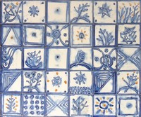Painted Tile 03