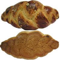 sweet bread paskalya